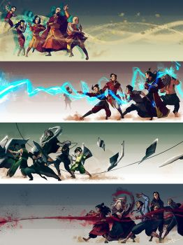 Elemental Masters by Ctreuse109