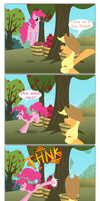 In which Pinkie Pie bucks apples by grievousfan