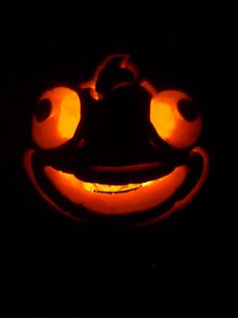 Fester Fish Pumpkin by CamGaloo