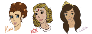 The TUP Girls by animal-lover-247