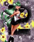 Sailor Pluto - Chronos Typhoon by aleena