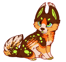 Chibi Commission: LethalAnxiety! by SierratheSharkDoge