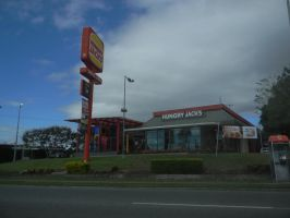 Booval Hungry Jack's by Zomit