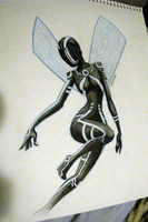 It's a Tron Fairy idon'tknowokay? by AnArtistCalledRed