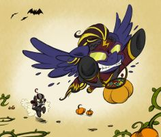 Halloween Commission - The Thief by Pimander1446