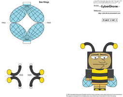 Cubee - Bumblebee Man '2of2' by CyberDrone