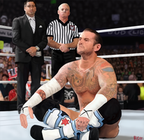 CM Punk MITB Entrance by redchaos187