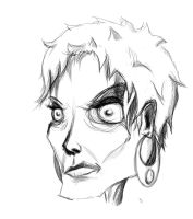 Face sketch by Dr-Flink