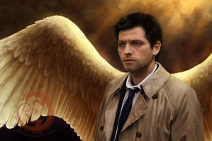 Castiel - God, can you hear me? by Yowsie