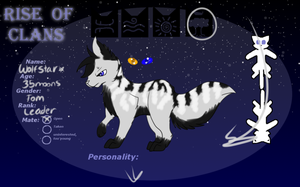 Wolfstar Leader Of Timberclan | ROC | Reference by Staraptorlover56