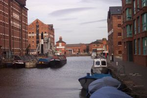 Gloucester Docks I by MagicalCrystal