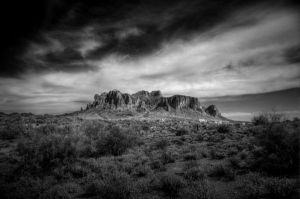 Superstition Mountains by miaphoto