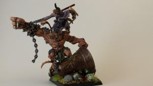 skaven warlord on bonebreaker by ChiefRat