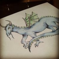 Dragon by Hekard