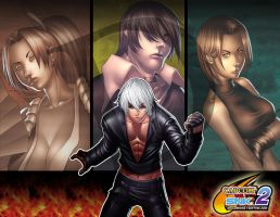 king of fighters by DXSinfinite
