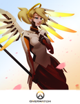 Overwatch- Mercy by ProxyIllustration