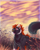 Evening Light -Art Trade- by KasaraWolf