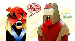 SG:CtC - Brak and Moltar by renata-young