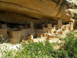 Mesa Verde's cliff palace by drakoknight
