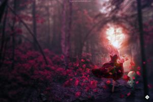Lost in the forest. by Ergen-Art