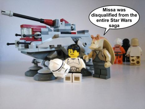 Mini AT-TE - Microfighter DISQUALIFIED by Anonyme003
