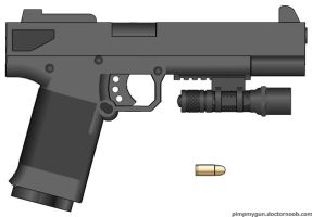 M13A Equstrian Detective's Pistol by radar651