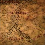 Red Brush Fantasy Map by Cirias