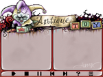 Antique Toy MusicDisk by asphyx0r