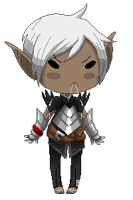Smol angry elf (Free to use) by ScarletttCake