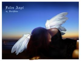 fallen angel by BlackPotion