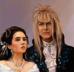 Labyrinth David Bowie by jezviking