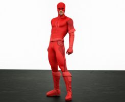 Daredevil new 2nd skin textures for M4 by hiram67