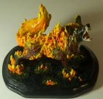 Fire Fox Sculpt I by Phoenix-Cry