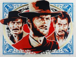 Sergio Leone Tribute by epyon5