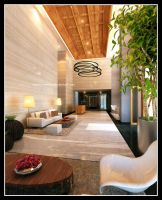Lobby apartment by Yvesanty