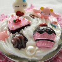 Love Bunny Sweets Mirror by AndyGlamasaurus