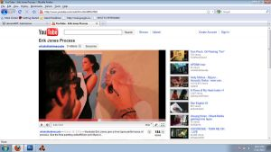 PROCESS VIDEO, youtube by theirison