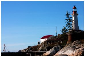 Point Atkinson Lighthouse by bcdirector
