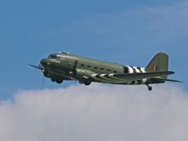 BBMF DC3 Dakota - Old Warden by davepphotographer