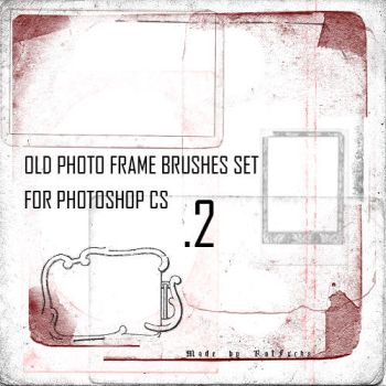 Old Photo Frame Brushes 2 by RotFuchs