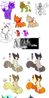 -LEFTOVER ADOPTABLES- Name your price 2 *OPEN* by Skull-gum