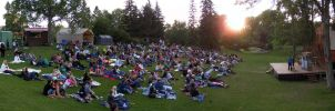 Shakespeare in the Park by lonnietaylor