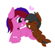 :COMM: Love-y Dove-y Little Ladies by MelchiorFlyer