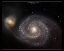 M-51 Whirpool Galaxy by MilchstrabeSTern
