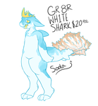 Gr8r wh1te shark FP REDUCED [OPEN] by howlogen