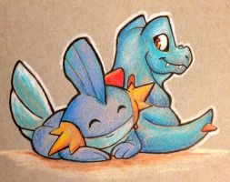 My drawing . Day_26__starters_by_wforwumbo-d90xlge
