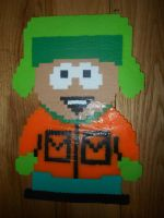Kyle Perler Bead by ChickenB13