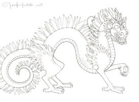 Asiatic Dragon by Darksavvy