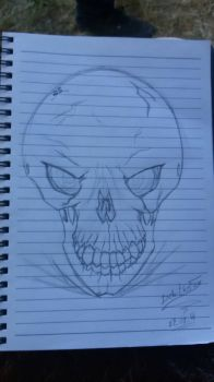 Quick Skull by DebiTheFox