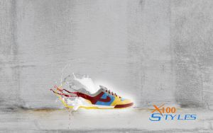 Splash Shoes by X100-Styles